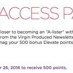 Mix: Triplo de Avios nos hotéis Hilton, outros 500 pontos grátis Elevate (Virgin America)