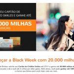Solicite seu cartão de crédito Smiles Platinum (BB ou Bradesco) e ganhe 20 mil milhas extras