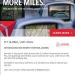 Agora você pode ganhar milhas Delta SkyMiles nas hospedagens feitas via AirBnB