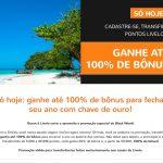 Nova oportunidade para clientes Livelo ganharem bônus de 100% nas transferências acima de 50 mil pontos para o Smiles
