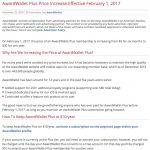 AwardWallet aumentará o preço da assinatura anual de USD 10 para USD 30: atuais clientes podem manter o preço atual, assim como clientes novos que se associarem até janeiro!