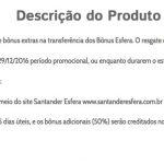 Santander oferece 50% de bônus nas transferências para o Smiles