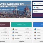 Promoção Winter Sales do Hilton oferece descontos de 30% sobre a BAR, na Europa, Oriente Médio e África