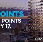 Hilton Honors com 80% de bônus na compra de pontos: 144 mil pontos por R$ 2.893,53.