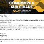 Aniversário de São Paulo: EasyTaxi 50% off, Uber a R$ 4,63, Gol e Azul com 20% de desconto [códigos promocionais]