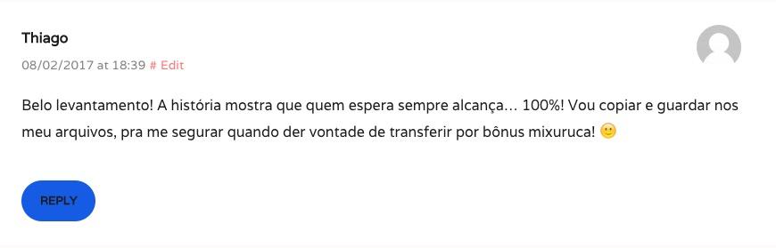 Comment Thiago