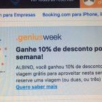 Programa de recompensas Genius, do Booking.com: 10% de desconto em diárias de hotéis sobre a melhor diária flexível