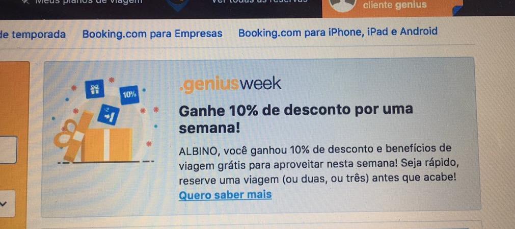 Genius Booking