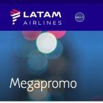 Às 20h, MegaPromo no site da LATAM!
