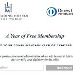 Ganhe 1 ano grátis de associação no Leading Hotels of The World (LHW) – economize USD 150 (~R$ 558,49)