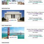 Smiles faz promoção pra Nova York voando Delta por 25k em econômica (trecho) e 60k em executiva (trecho). Cuidado com os voos de conexão!