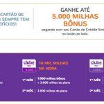 Promoção relâmpago do Smiles oferece 20 mil milhas por R$ 162 no 1º mês do Clube Smiles 5.000 pagando com o cartão de crédito Smiles