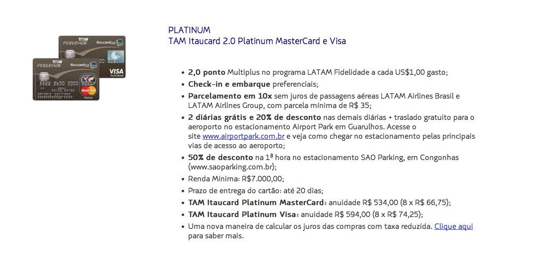 TAM Platinum