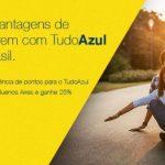 Transfira pontos do BB Livelo para o Tudo Azul e ganhe 20%, 40%, 60% ou 80% de bônus + 25% de desconto para viajar para Buenos Aires