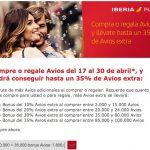 Bônus de até 35% na compra de Avios. 135.000 Avios por EUR 1.800 (~R$ 496,44 o bloco de 10k Avios)