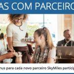 Ganhe 1.000 milhas Delta SkyMiles para cada novo parceiro que pontuar