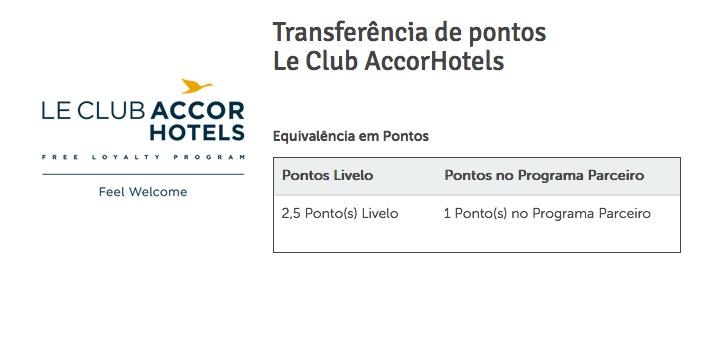 Livelo Le Club Accor