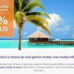 Promoção Smiles transferência de milhas entre contas com 200% de bônus: lotes de 10 mil milhas por R$ 250