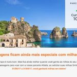 Voe Alitalia (voos pagos com dinheiro) e ganhe bônus de 100% nas milhas Smiles, sobre a respectiva classe tarifária