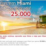 Não tá fácil pra ninguém: Amigo Avianca vendendo passagens para Miami por 25 mil pontos o trecho, para voar durante toda a alta temporada (julho a agosto)