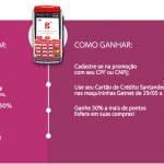 Promoção dá 50% de bônus Santander nas maquininhas GetNet