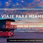 Clientes Diamond Amigo Avianca com 40% de desconto para viajar para Miami – Gold recebe 30%
