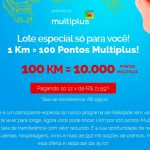 Prorrogada! Promoção de compra de 10 mil pontos Multiplus Fidelidade por R$ 259 via KM de Vantagens, até 15 de julho de 2017