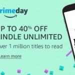 Amazon oferece 40% de desconto nas assinaturas do Kindle Unlimited e Audible (6 primeiros meses) para os assinantes do Amazon Prime