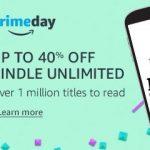 Amazon oferece 40% de desconto nas assinaturas do Kindle Unlimited e Audible (6 primeiros meses) para os assinantes do Amazon Prime