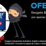 Oferta ninja Multiplus Fidelidade de hoje: 37.900 pontos (32.900 Clube/Itaucard) para resgate de uma Smart TV 32″ LED Samsung
