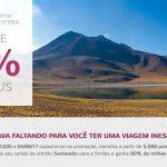 Bônus de 60% nas transferências do Santander para o Smiles