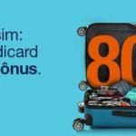 Outro dia, outra promoção de 80% de bônus do Tudo Azul. Dessa vez com os cartões Itaú e Credicard.