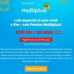 Última chamada: termina hoje a promoção do KM de Vantagens vendendo lotes de 10 mil pontos Multiplus por R$ 259. Veja aqui se você (ainda) é elegível.