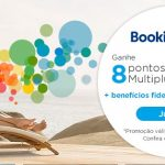 Acumule 8 pontos Multiplus Fidelidade por cada 1 dólar gasto no Booking.com