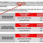 Boa notícia: Santander prorroga até 31.12.2017 o prazo da promoção para ganhar milhas extras com os cartões de crédito Santander AAdvantage