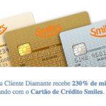 Voltou: bônus de 230% nas transferências entre contas Smiles [R$ 217,39 o bloco de 10 mil milhas], para clientes Clube Smiles ou Diamante que pagarem com cartão de crédito Smiles