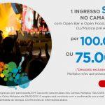 Oferta Ninja: 100.000 pontos Multiplus Fidelidade (75 mil Clube) para 1 ingresso no show do U2 no camarote