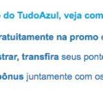 Bônus 80% Itaú e Credicard para o Tudo Azul