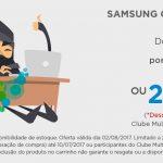 Oferta Ninja: 34.900 pontos Multiplus (ou 26.900 Clube/cartão Multiplus Itaucard) por um Samsung Galaxy J5 Prime 32 GB
