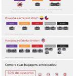 Bagagem despachada na Avianca Brasil: quanto custa