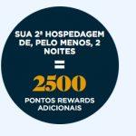 Accor oferece bônus de 6.000 pontos Le Club (120 euros ou ˜R$ 450) após 3 estadias de 2 noites cada