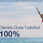 Bônus Tudo Azul: 80% ou 100% oriundos do Itaú; 50% ou 70% dos demais cartões de crédito
