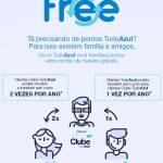 Tudo Azul agora permite transferências de pontos entre clientes, de forma gratuita e paga ao mesmo tempo