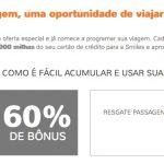 Mix: bônus 60% para o Smiles + points back de 20% em resgates de passagens; Victoria TAP com descontos de até 30% nos resgates de passagens-prêmio com milhas