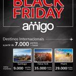 Black Friday Amigo Avianca tem passagens nacionais a 3.500 pontos e internacionais a partir de 7.000 pontos