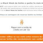 Smiles dá o quíntuplo de milhas nas reservas de hotéis