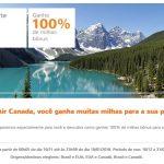 Acumule milhas Smiles em dobro (100% de bônus) nos voos da Air Canada (na alta temporada!)