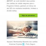 50% de bônus Amex MR, Porto, Pan, Itaú e Caixa para o Victoria TAP