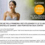 Hospede-se pela primeira vez utilizando o Le Club Accorhotels e ganhe 1.000 pontos extras (20 euros)