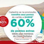 Multiplus prorroga a promoção dos bônus de 40% e 60% até o dia 22 de dezembro de 2017